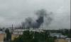 Появились фото загадочного пожара на Кировском заводе
