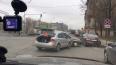 ДТП на Обводном канале перекрыло автомобильное движение
