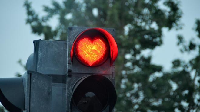 На Васильевском острове не работают светофоры