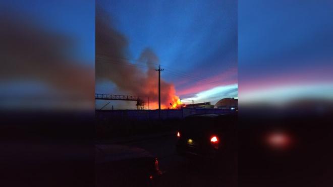 Пожар в Пушкинском районе тушили 120 сотрудников МЧС