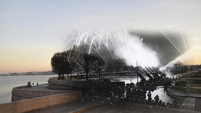 В Петербурге запустят салют в честь годовщины снятия блокады Ленинграда