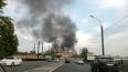 Небо над Петербургом заволокло едким дымом