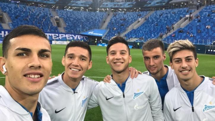 "Аргентинцы ""Зенита"": как это было"