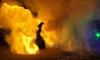 В Петербурге пожарные тушили три автомобиля