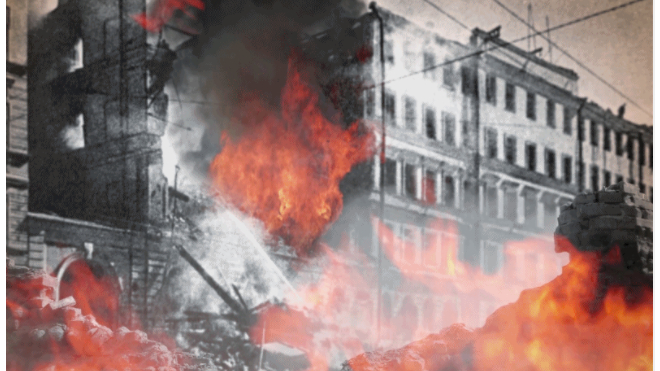 На площади Победы презентуют интерактивную карту блокады и обороны Ленинграда