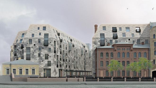 Губернатора Петербурга попросили остановить строительство жилого комплекса на набережной Карповки