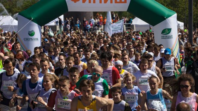 """Успеть на забег: в Петербурге завершается регистрация на """"Зеленый марафон Сбербанка"""""""