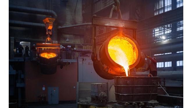 На Балтийском заводе залили самый большой гребной винт в истории предприятия
