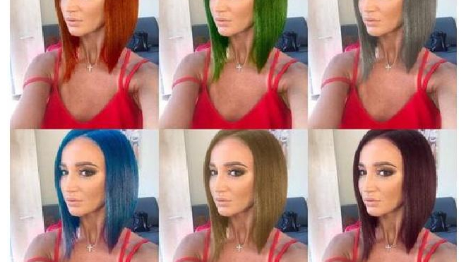 Няши в шоке: в AppStore появилось приложение для перекраски волос