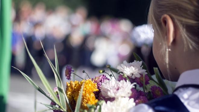 Смольный разрешил провести 1 сентябряпраздничныелинейкидля первоклассников и выпускников школ