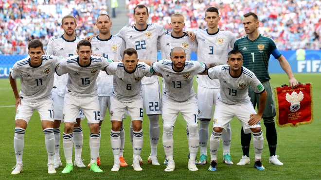 Российская сборная получила 16 млн долларов за выход в четвертьфинал ЧМ-2018