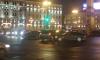 В центре Петербурга собралась огромная пробка из-за массового ДТП