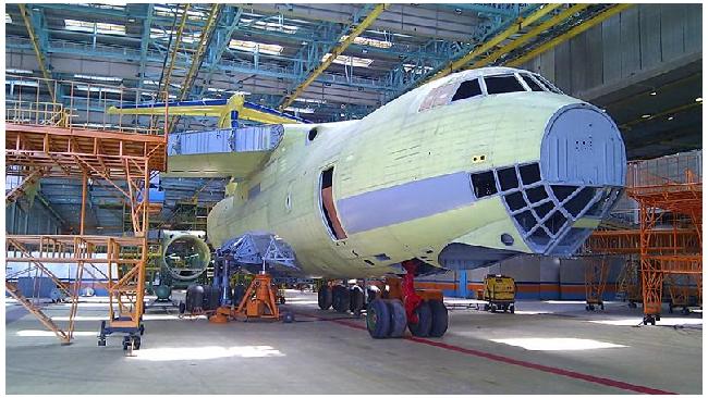 Новый военный транспортный самолет Ил-476 начнут производить в 2014 году