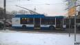 """В Петербурге появился первый учебный троллейбус """"Мегапол..."""