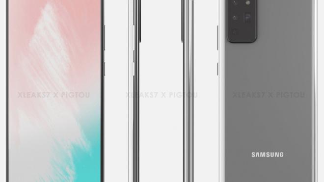 Samsung Galaxy Note 20 показали на качественных рендерах