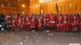 ПетербургскиеДеды Морозы готовятся к массовому забегу