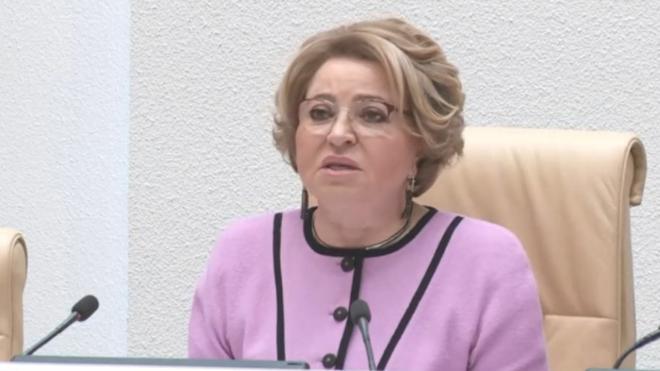 """Матвиенко: есть все основания зарегистрировать """"Спутник V"""" в Евросоюзе"""