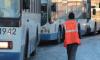 На Невском проспекте электробусы заменили троллейбусы