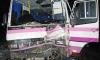 Иномарка врезалась в автобус в Подмосковье, 14 пострадавших