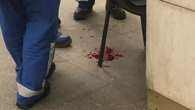 """В Петербурге таксист """"порезал"""" своего пассажира"""