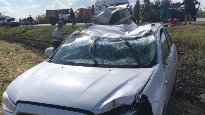 В массовом ДТП в Воронежской области погибли 3 человека