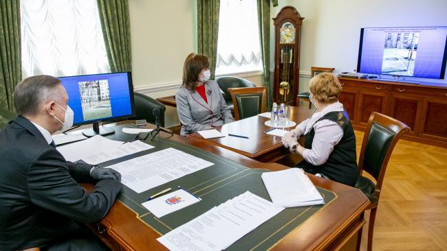 В Петроградском районе ускорят ремонт бассейна в детской поликлинике