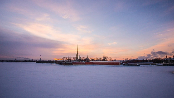 Вечером в Петербурге снова ожидается снег