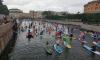 Международный фестиваль сапсерфинга завершился в Петербурге