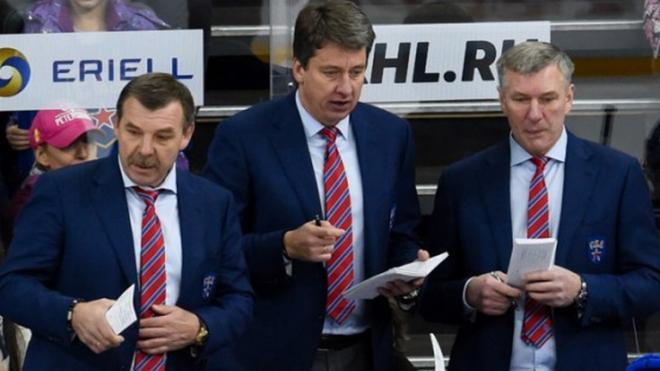 Олег Знарок официально покинул пост главного тренера СКА