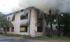 В результате ночного пожара в Петровском переулке выгорело 500 кв.м