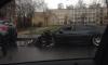 На Шепетовской улице загорелся элитный автомобиль