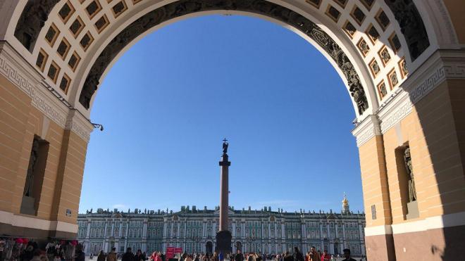 На Дворцовой площади отрепетируют парад к 75-летию снятия блокады Ленинграда