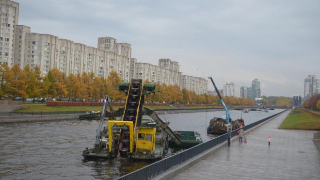 В Петербурге продолжат расчистку Смоленки