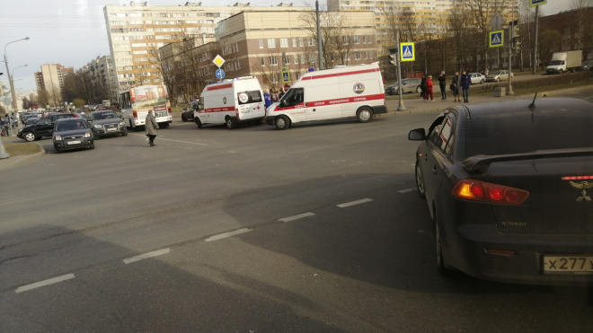 На улице Рихарда Зорге сбили ребенка