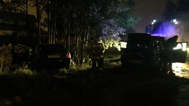 В аварии под Левашово серьезно пострадало три человека