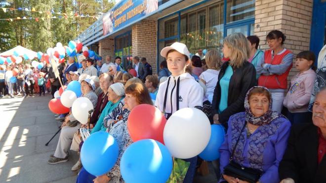 Полянцы отметили день рождения поселка