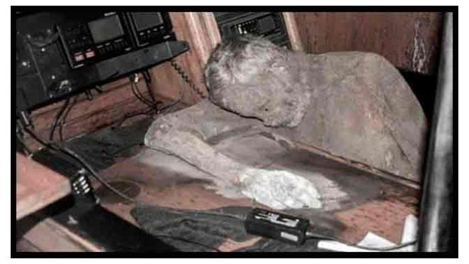 Моряки разгадали тайну яхты с мумией известного путешественника на борту