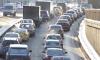 На КАД в районе Колтушского шоссе образовалась двухкилометровая пробка
