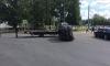 Эвакуатор-неудачник выронил и разбил дорогой Фольксваген на Петровском проспекте