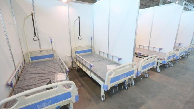 """Госпиталь в """"Ленэкспо"""" примет пациентов в случае ухудшения обстановки с коронавирусом"""