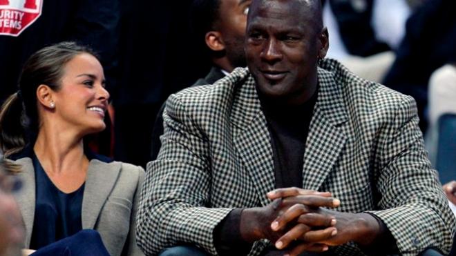 Легенда баскетбола Майкл Джордан женился на модели