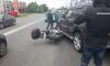 Утром в Петербурге случилось уже две аварии с участием мотоциклистов