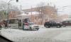 Снегопад спровоцировал в Петербурге 9-балльные пробки и десятки ДТП