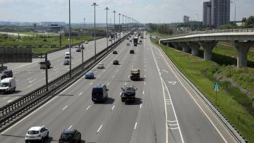 В Ленобласти организуют работы по ремонту около 100 км автодорог «Нарва» и «Магистральная»