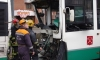 В результате ДТП с двумя автобусами в Петербурге 8 человек попали в больницу
