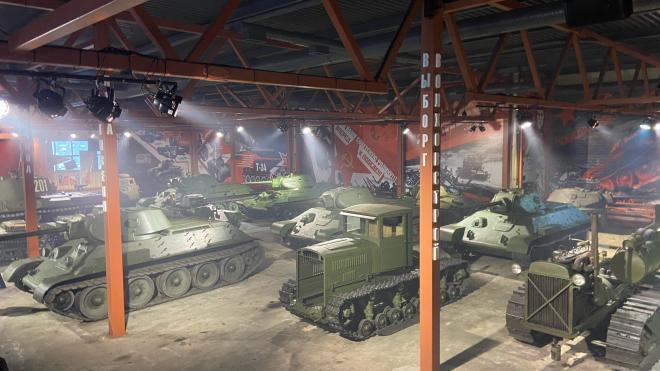 Во Всеволожске открыли новый зал музея имени танкиста Зиновия Колобанова