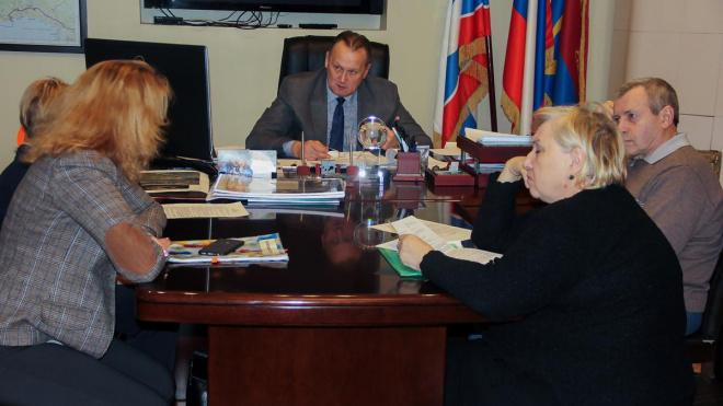 Глава администрации Выборгского района провёл приём граждан