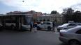 Женщина пострадала в тройном ДТП с автобусом на Римского...