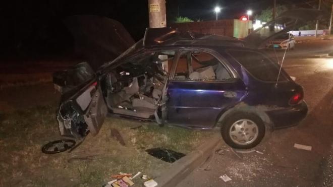В Липецке в ДТП погиб 19-летний водитель и его 15-летний пассажир