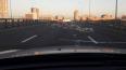 На Дунайском путепроводе неустановленный транспорт ...